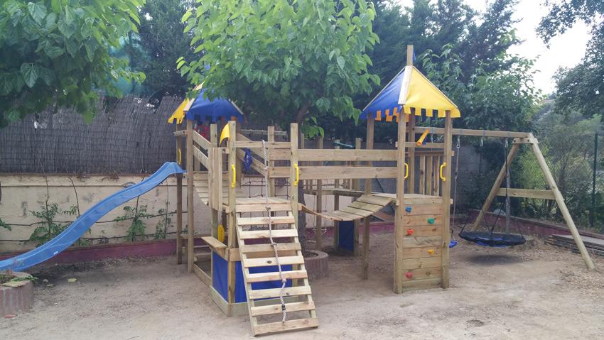 Villa Costa Barcelona Kids paradise garden