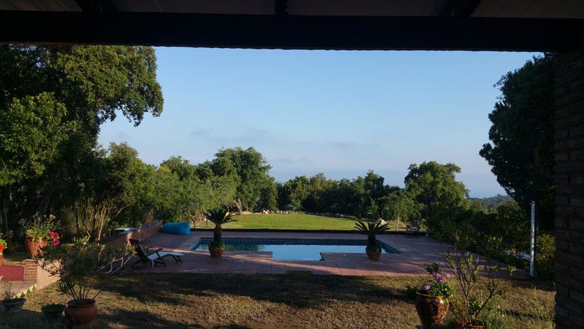 view from the terrace Villa Costa Barcelona